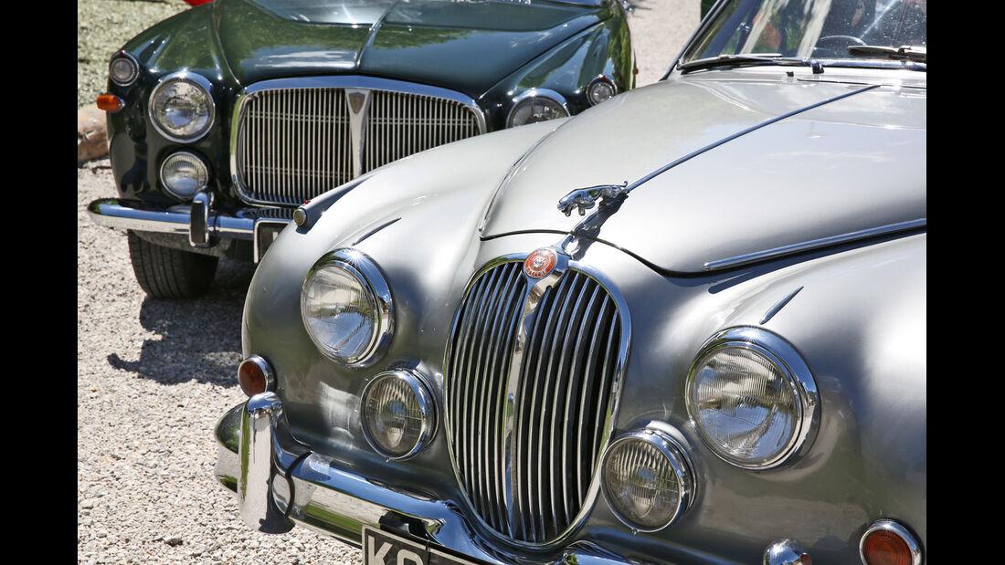 Jaguar MK II, Rover P5B, Kühler