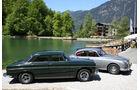 Jaguar MK II, Rover P5B, Seitenansicht