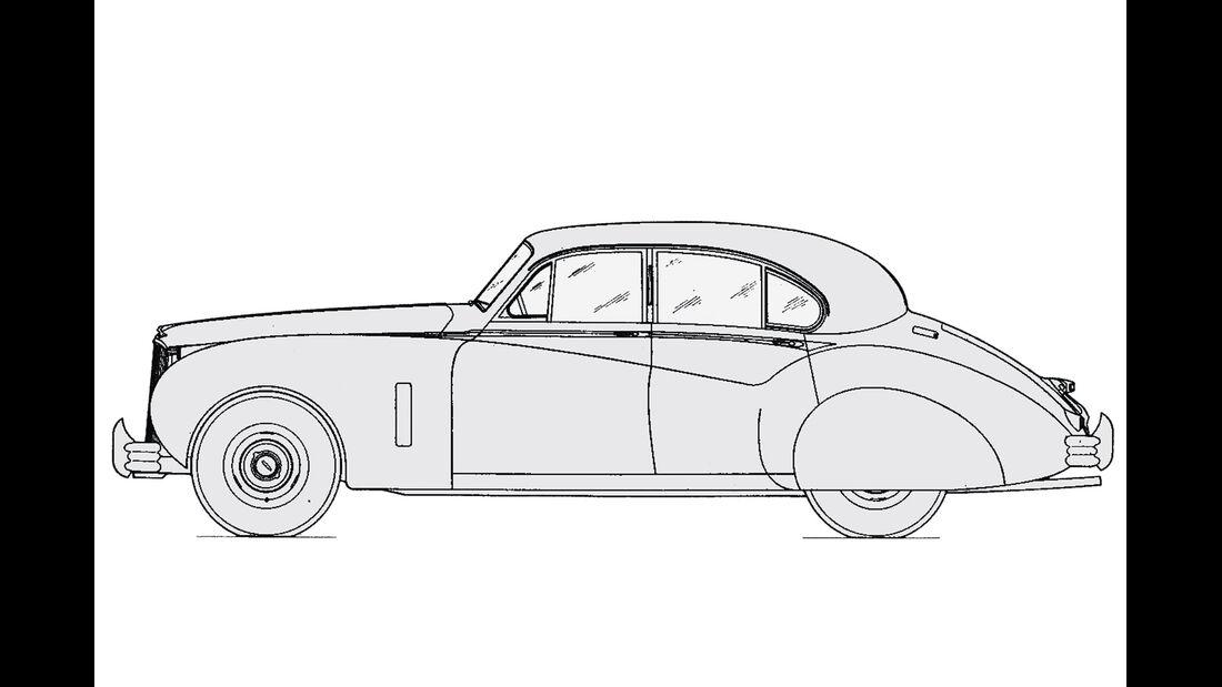 Jaguar MK IX, Durchsicht