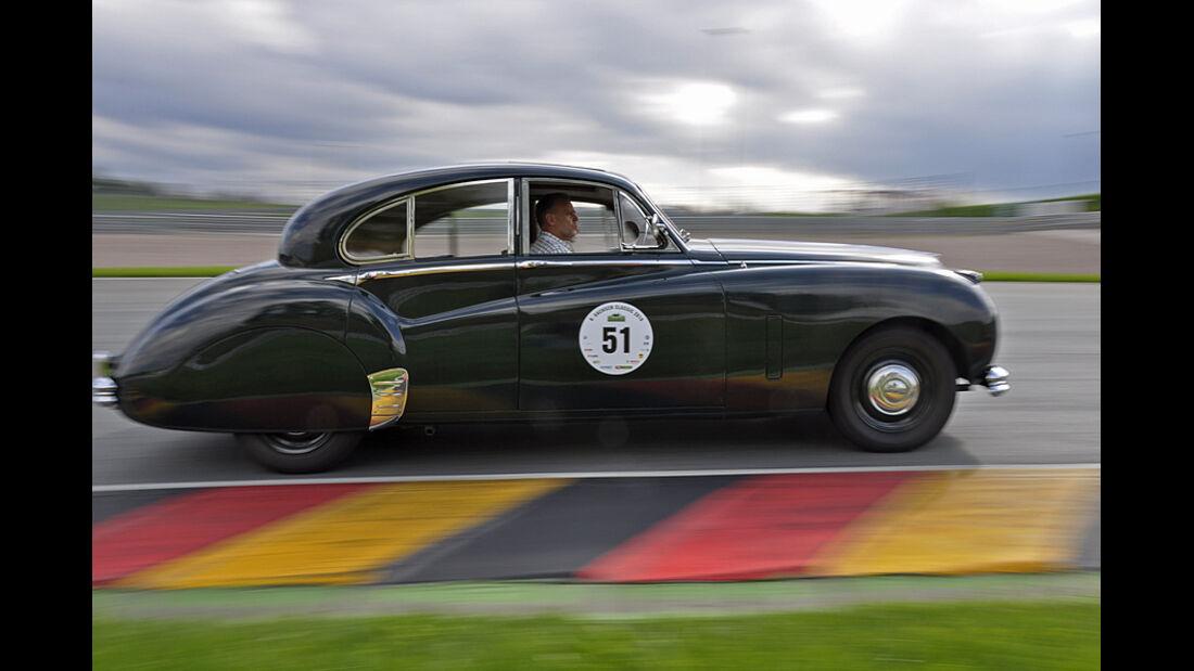 Jaguar MK VII bei der Sachsen Classic 2010