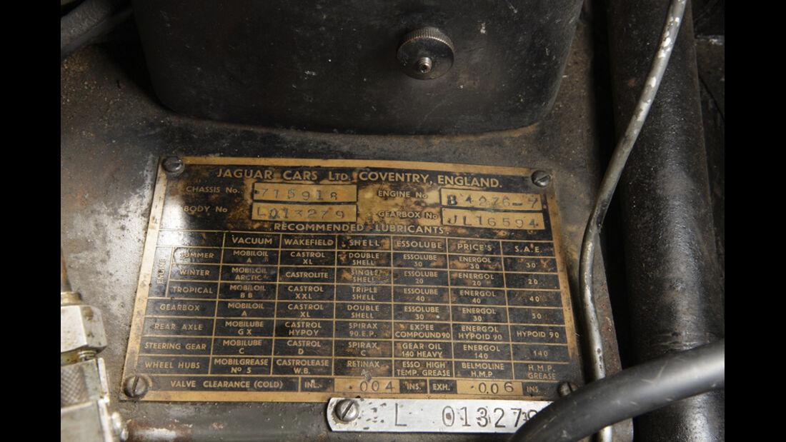 Jaguar Mark VII, Detail