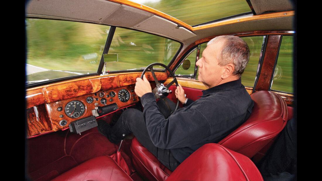 Jaguar Mark VII, Innenraum