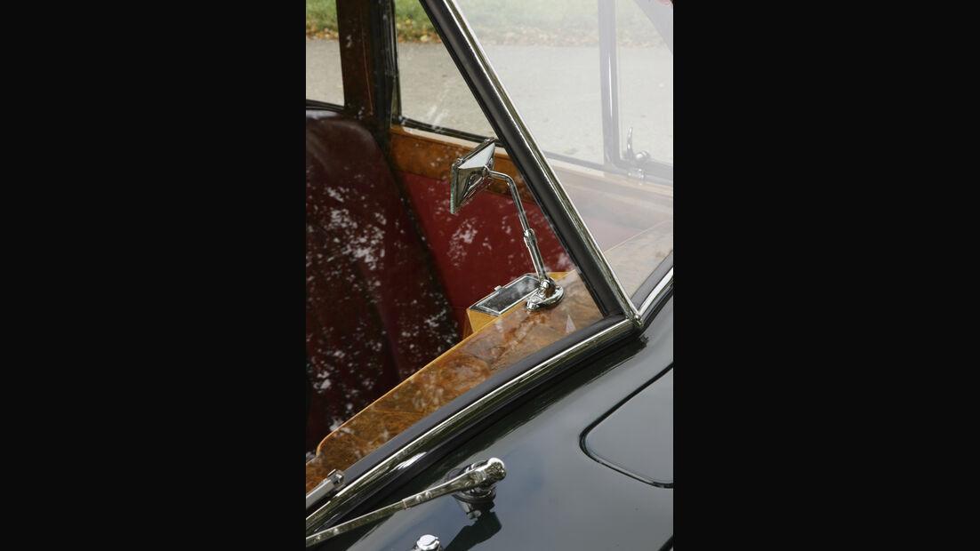 Jaguar Mark VII, Rückspiegel