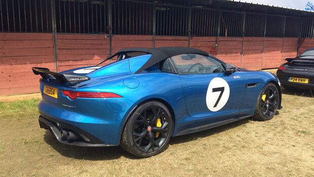 Jaguar Project 7 - Carspotting - 24h-Rennen Le Mans 2016