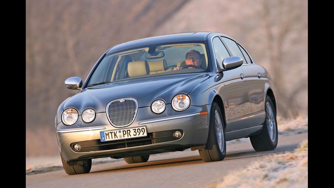 Jaguar S-Type 2.7 Diesel, Frontansicht
