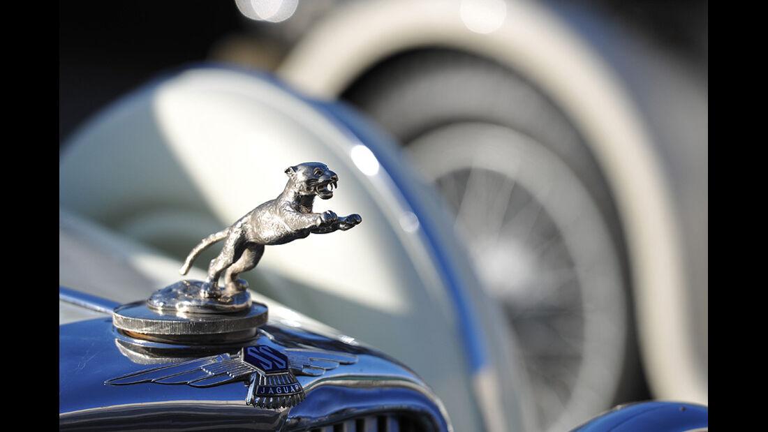 Jaguar SS 100 Kühlerfigur