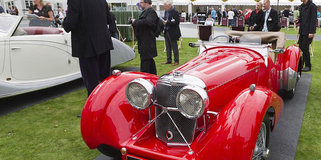 Jaguar SS 100 Saoutchik