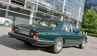 Jaguar  V12, Heckansicht