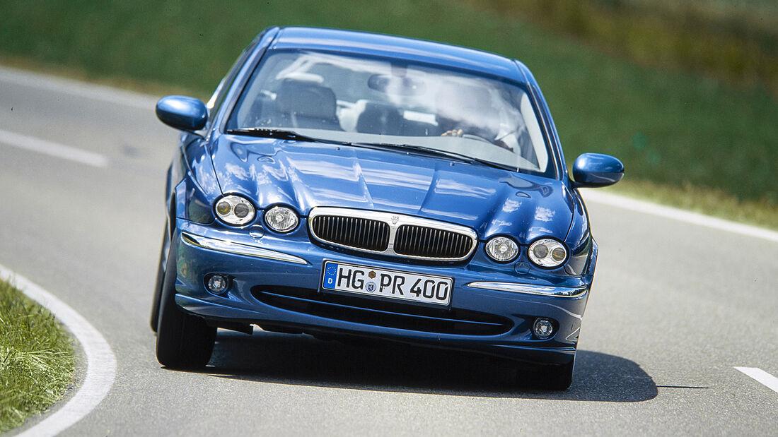 Jaguar X-Type 3.0 V6, Exterieur
