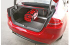 Jaguar XE 20d, Kofferraum, Volumen