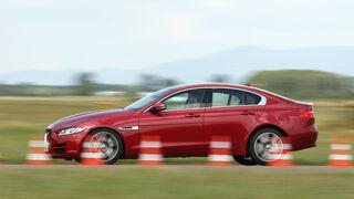 Jaguar XE 20d, Seitenansicht
