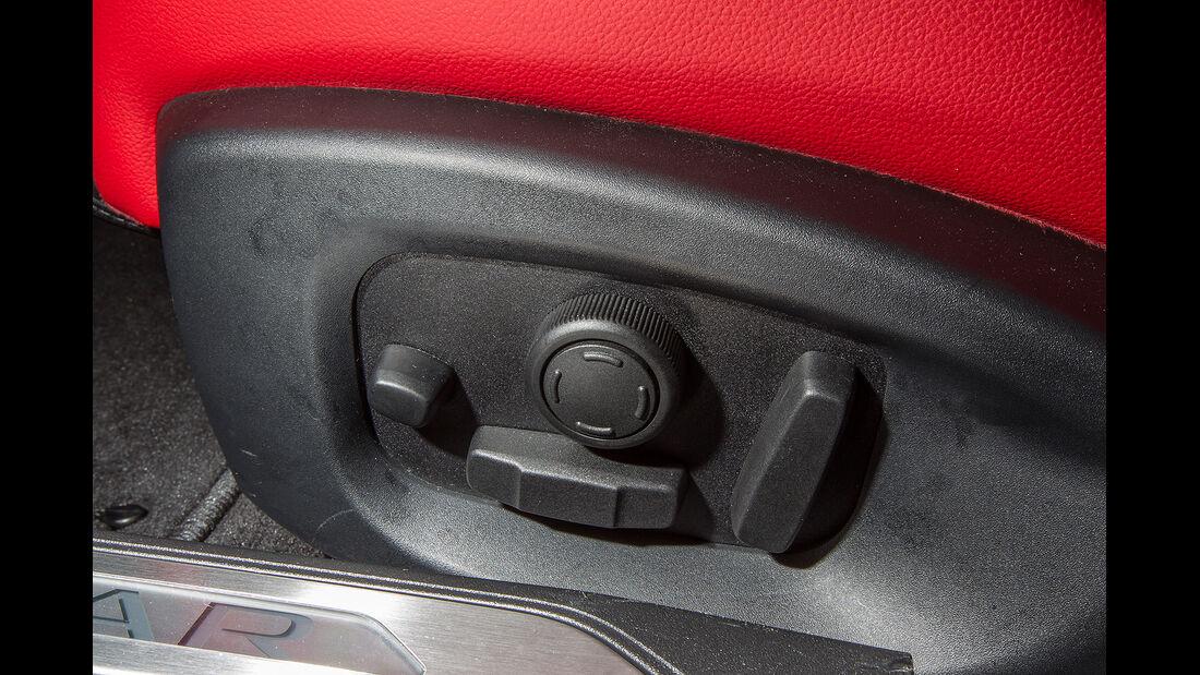 Jaguar XE, Innenraum, Sitze