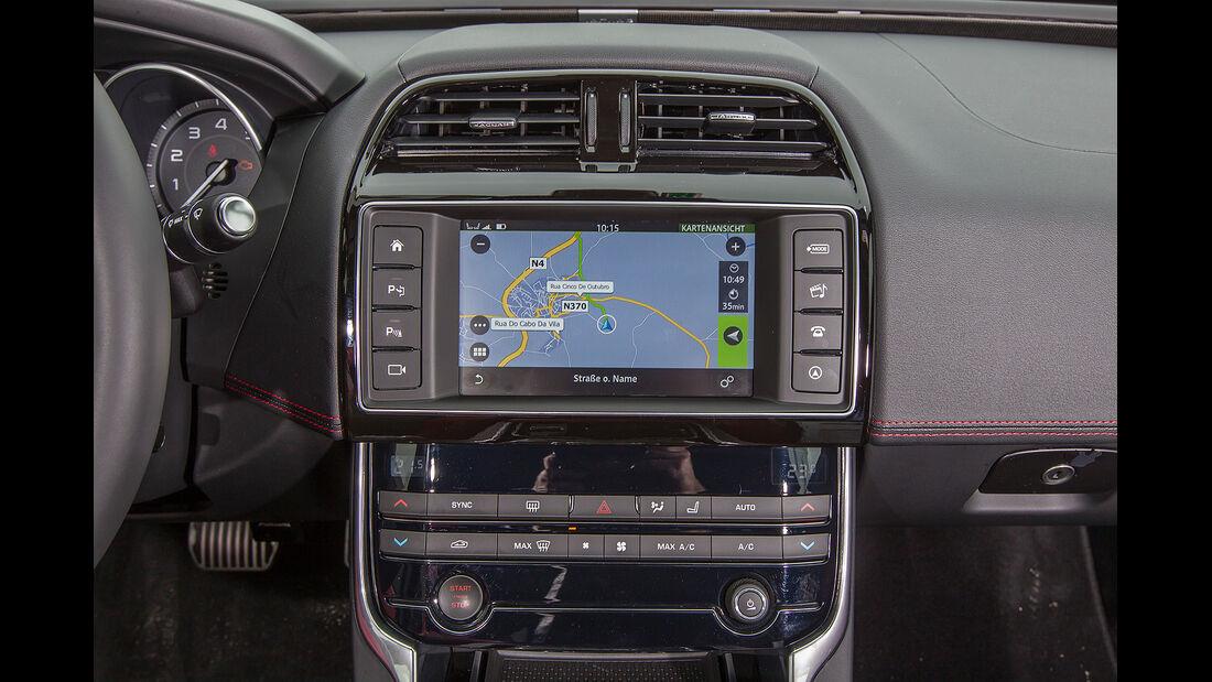 Jaguar XE, Mittelkonsole, Getriebe, Drehschalter