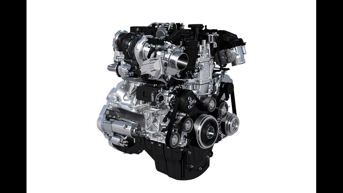 Jaguar XE, Motor, Ingenium