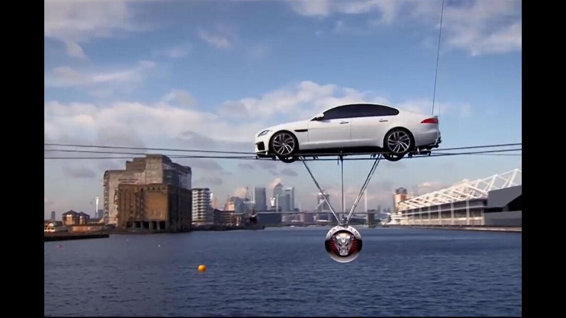 Jaguar XE Presentation River Thames