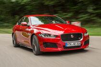 Jaguar XE S, Frontansicht