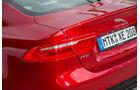 Jaguar XE S, Heck, Heckleichte