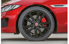 Jaguar XE S, Rad, Felge