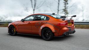 Jaguar XE SV Project 8 Fahrbericht 2018