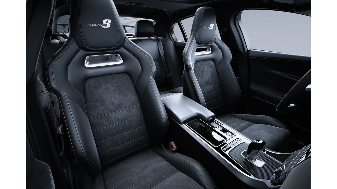 Jaguar XE SV Project 8, SVO, Power-Limousine