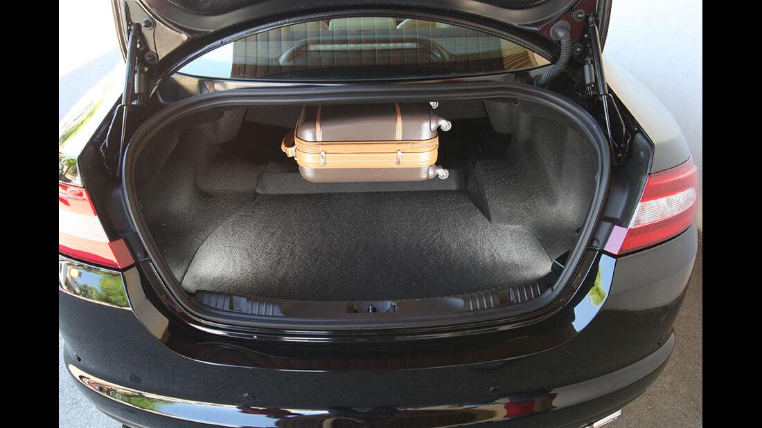 Jaguar XF 3.0 Diesel,Kofferraum