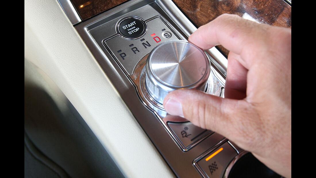 Jaguar XF 3.0 Diesel, Schaltung