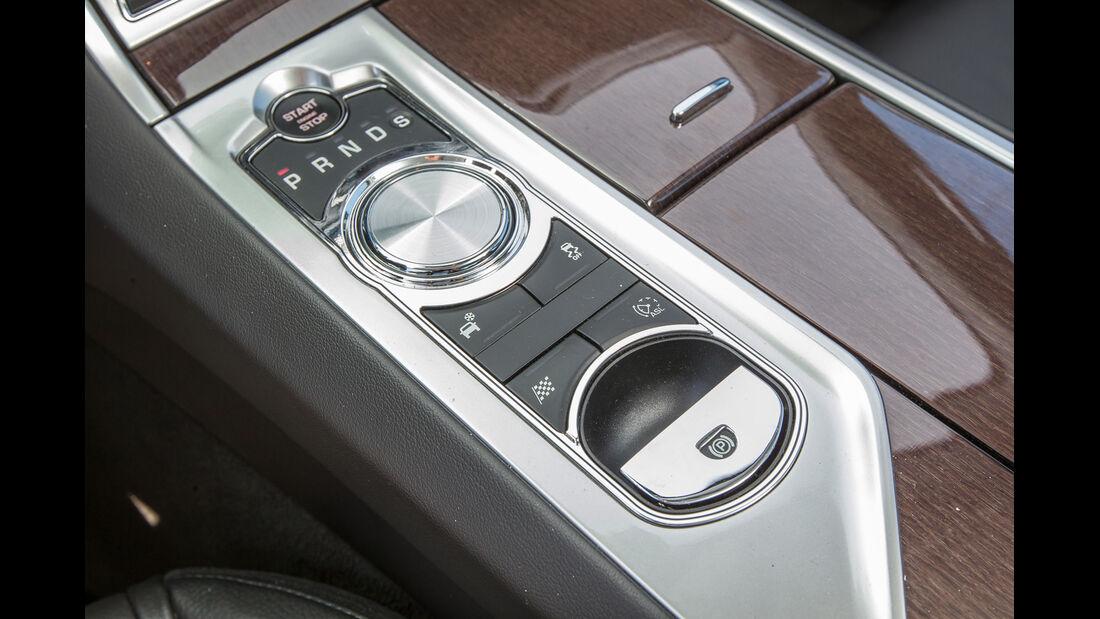 Jaguar XF 3.0 V6, Bedienelemente