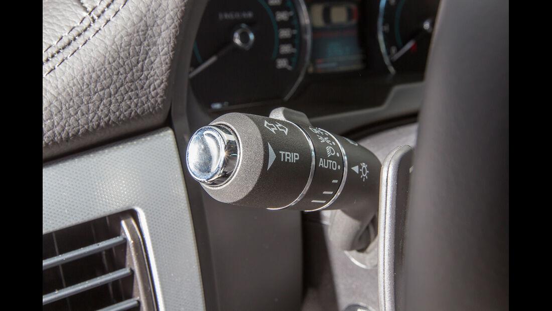 Jaguar XF 3.0 V6, Blinker, Lenkradhebel