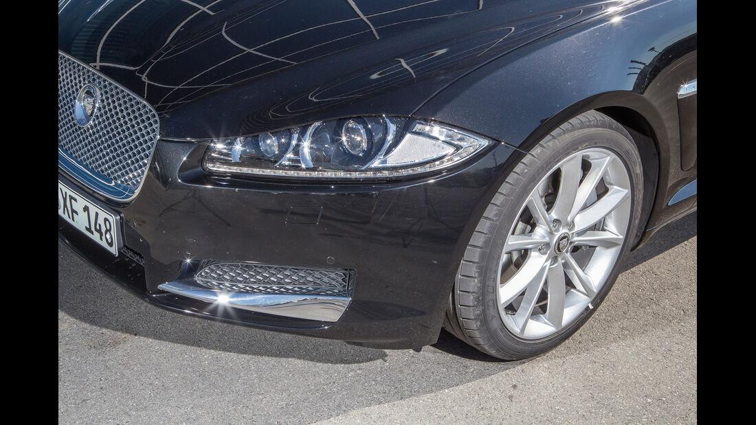 Jaguar XF 3.0 V6, Frontscheinwerfer