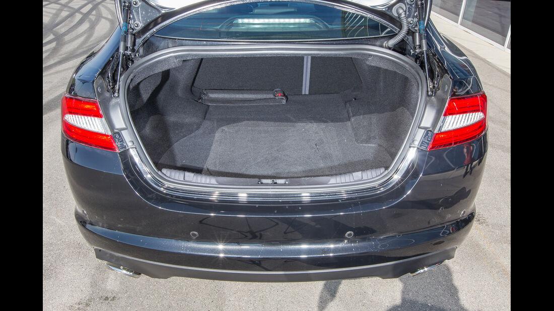 Jaguar XF 3.0 V6, Kofferraum