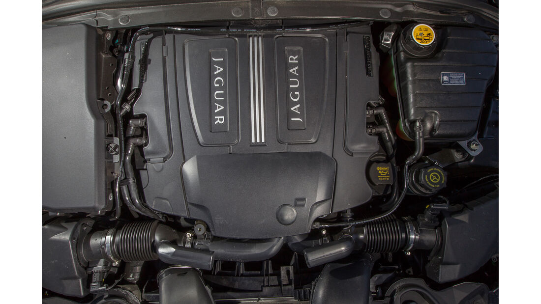 Jaguar XF 3.0 V6, Motor