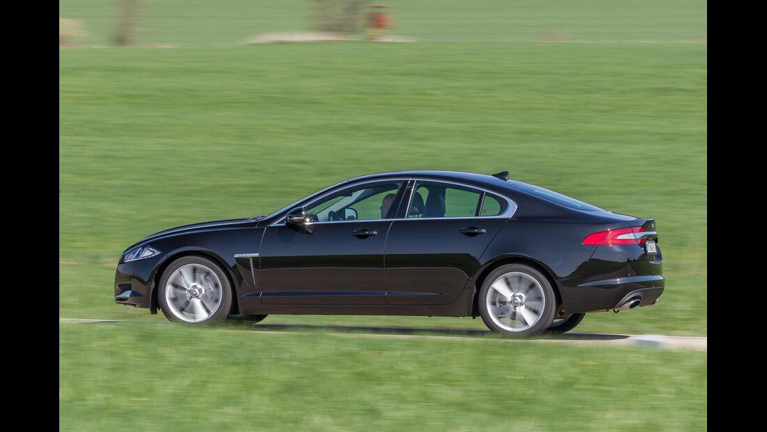 Jaguar XF 3.0 V6, Seitenansicht