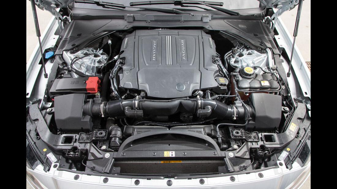 Jaguar XF 35t Prestige, Motor
