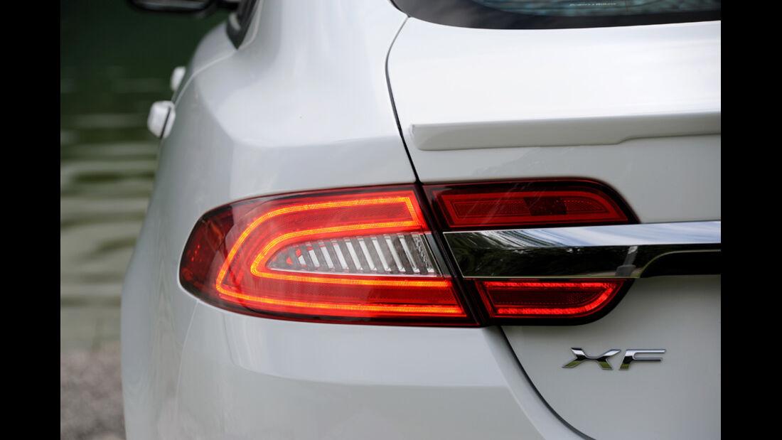 Jaguar XF, Bremslicht, Rücklicht