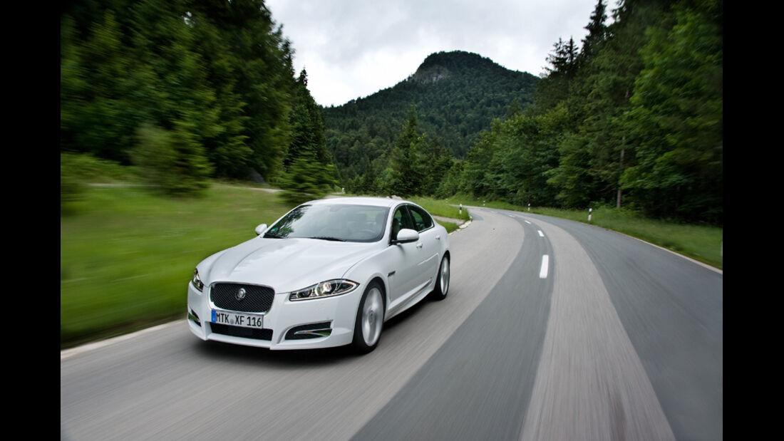 Jaguar XF, Frontanansicht, Front, Kühlergrill