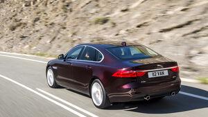 Jaguar XF, Heck