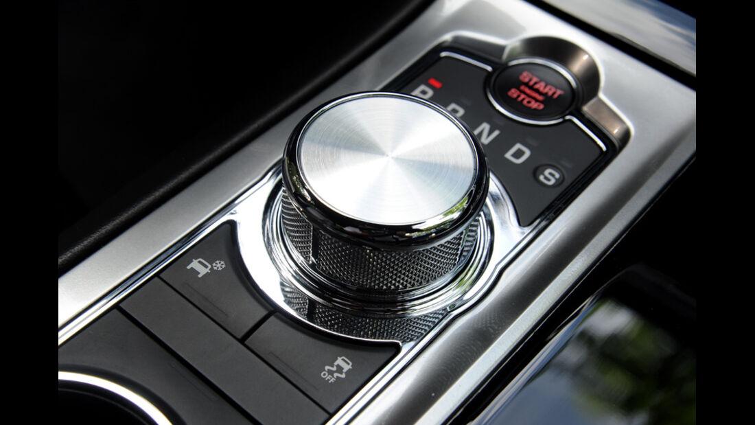 Jaguar XF, Knopf, Bedienknopf, Detail