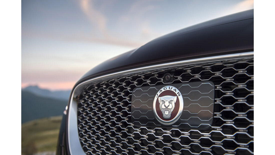 Jaguar XF, Kühlergrill