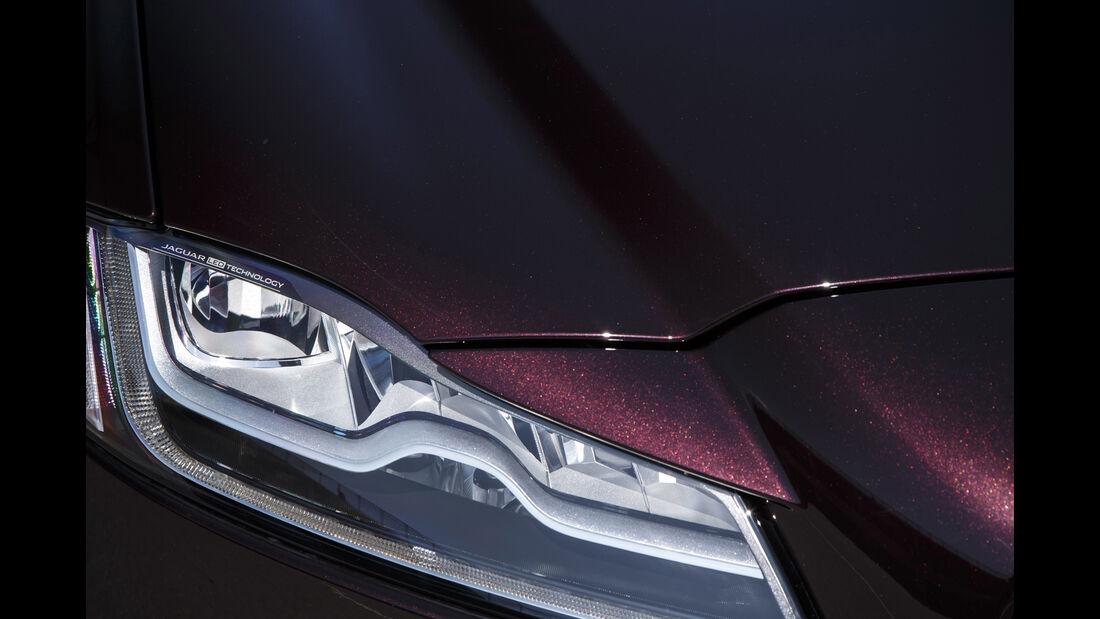 Jaguar XF, Scheinwerfer
