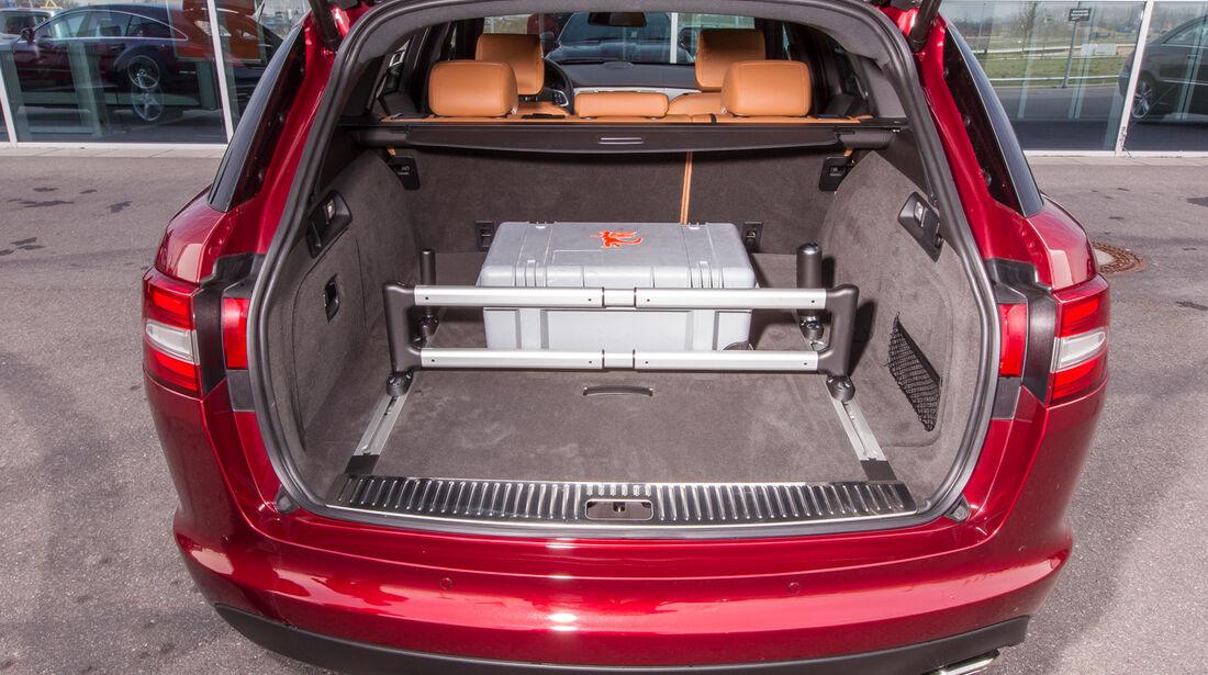 Jaguar XF Sportbrake 2.2 D, Kofferraum