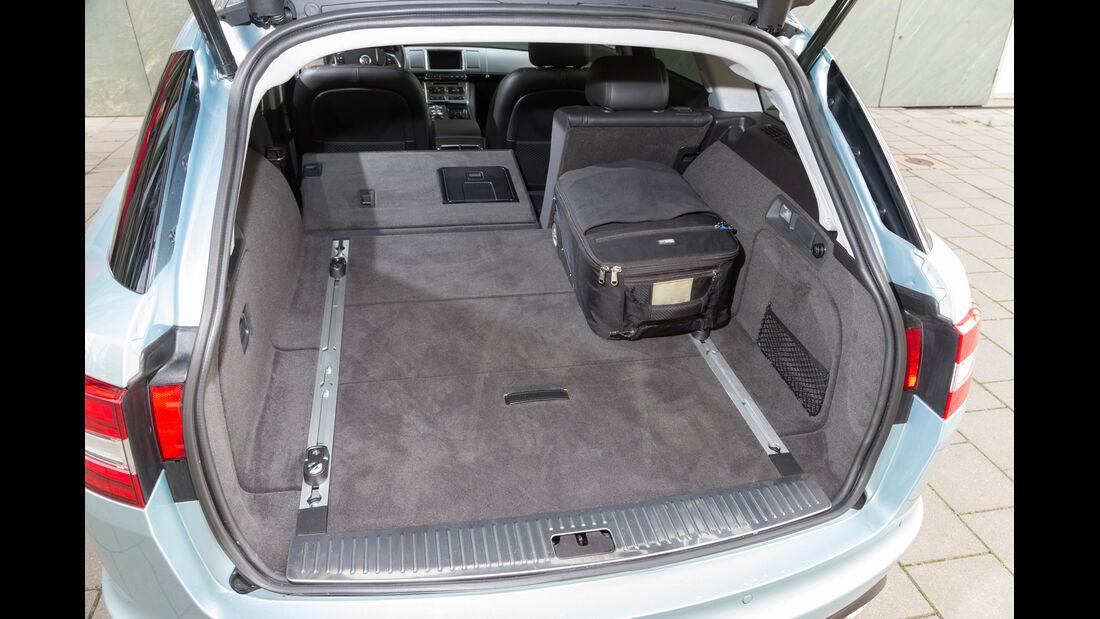 Jaguar XF Sportbrake 2.2D, Kofferraum, Ladefläche