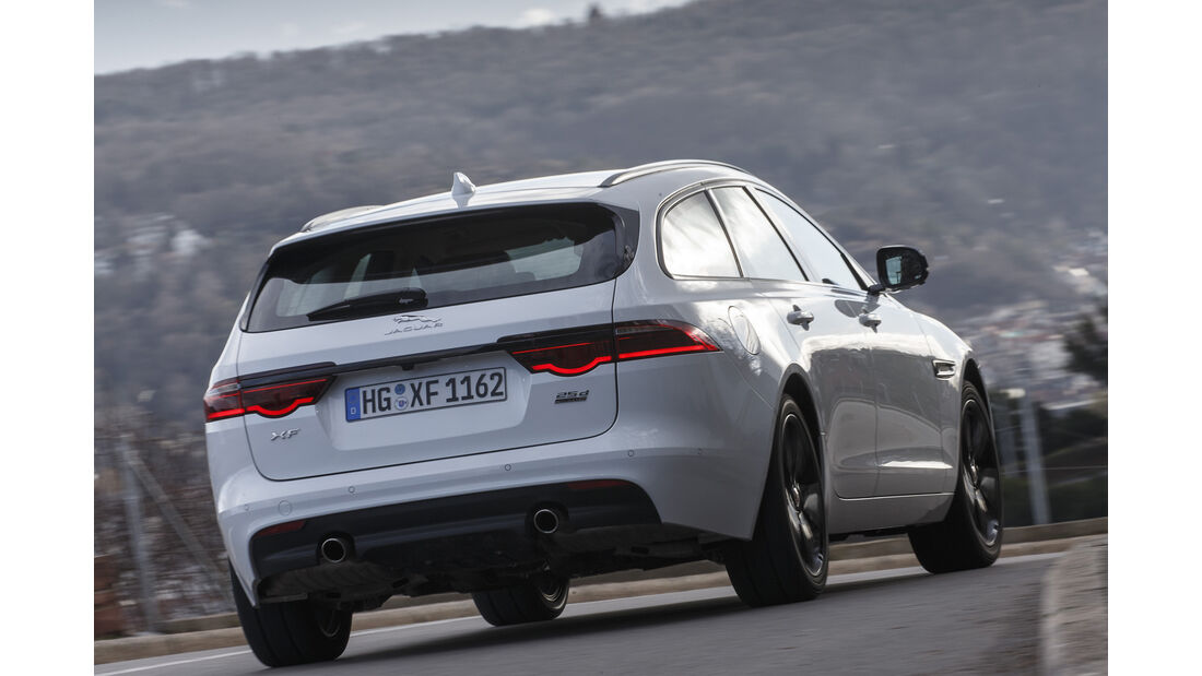 Jaguar XF Sportbrake 25d AWD Portfolio, Exterieur