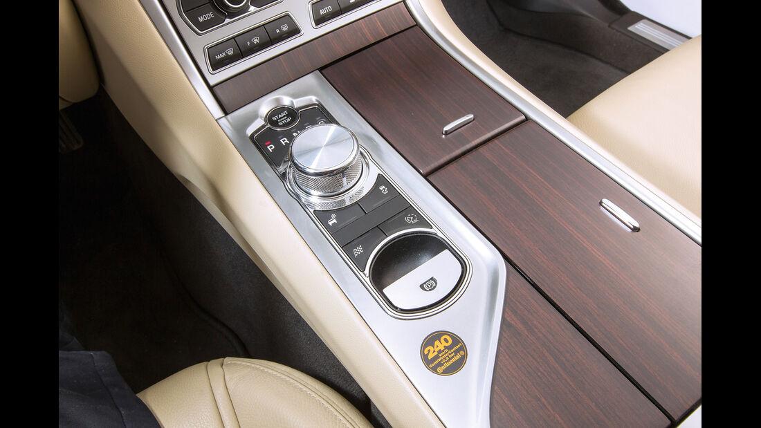 Jaguar XF Sportbrake 3.0 V6 D 600, Bedienelemente