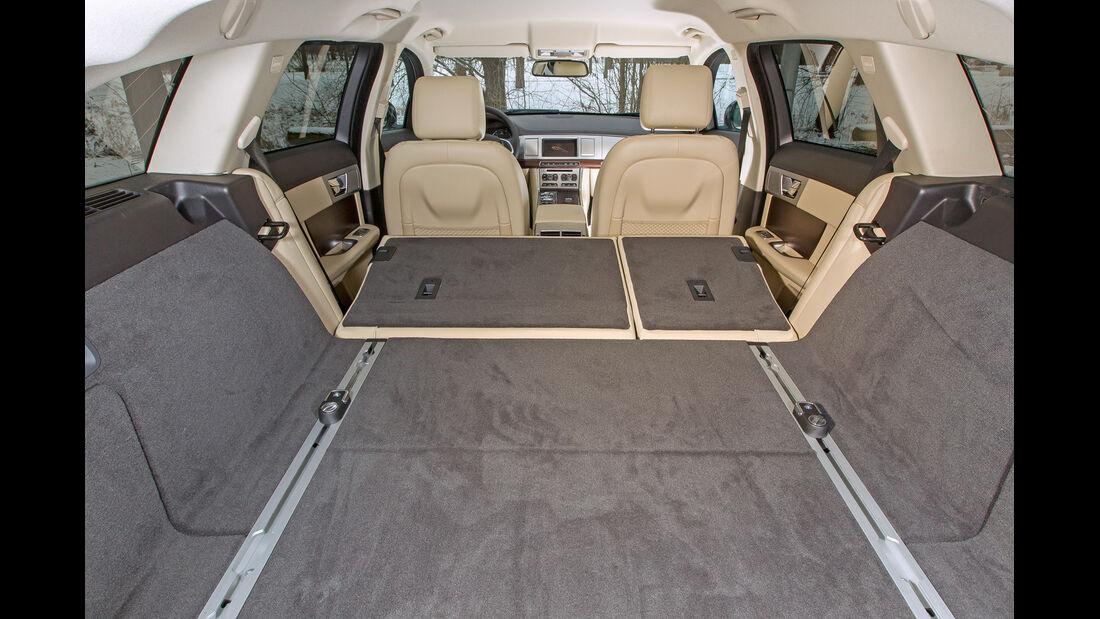 Jaguar XF Sportbrake 3.0 V6 D 600, Ladefläche, Kofferraum