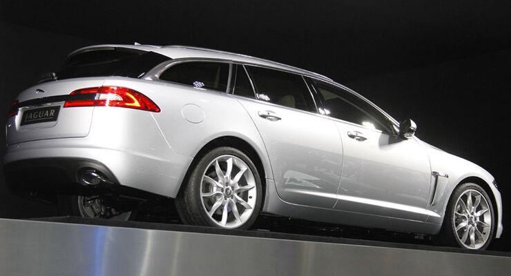 Jaguar XF Sportbrake Auto-Salon Genf 2012