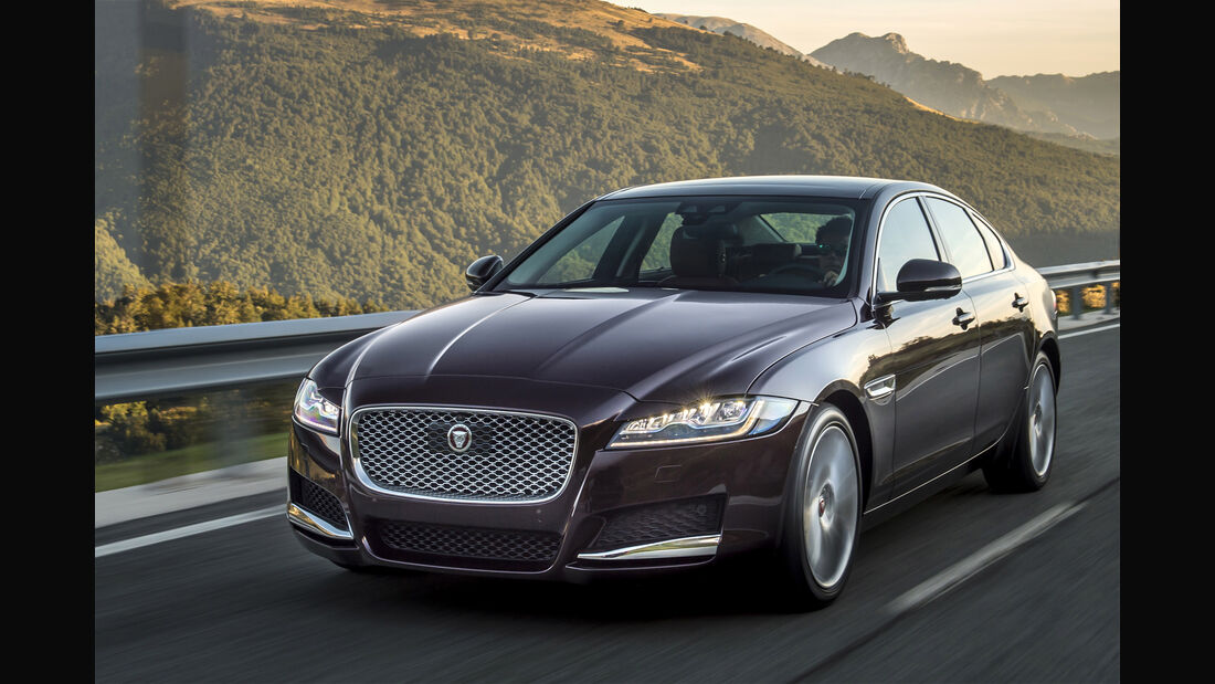 Jaguar XF, Totale