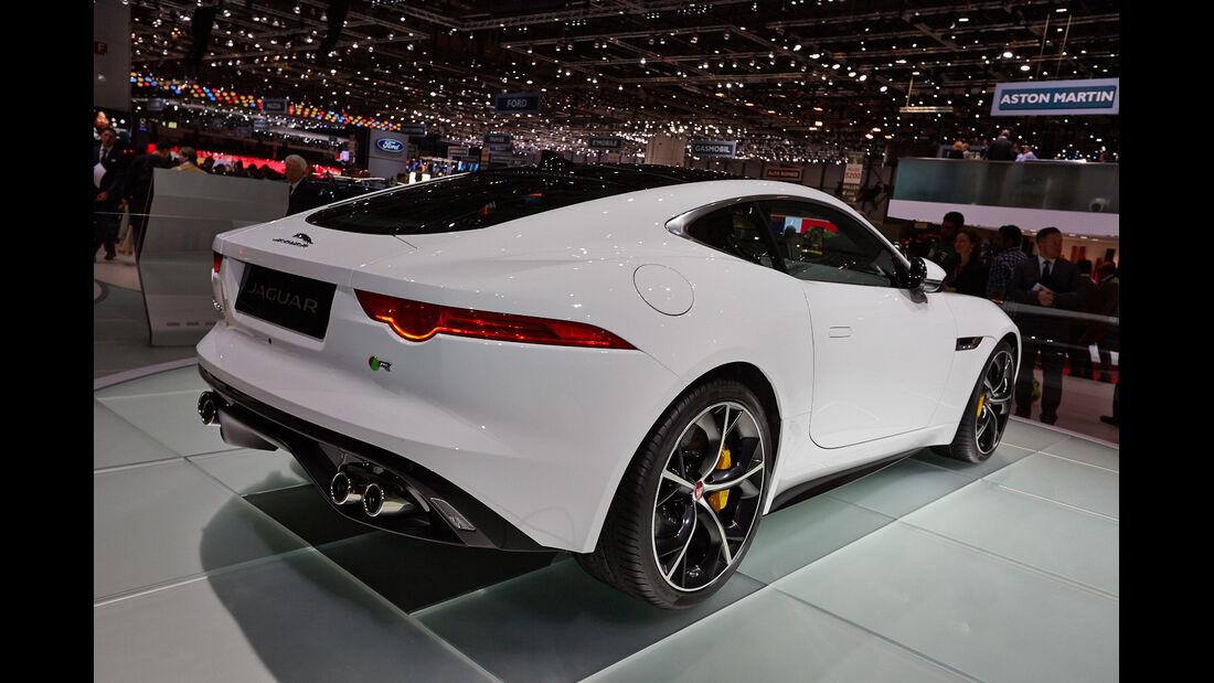Jaguar XF-Type R Coupé, Genfer Autosalon, Messe, 2014