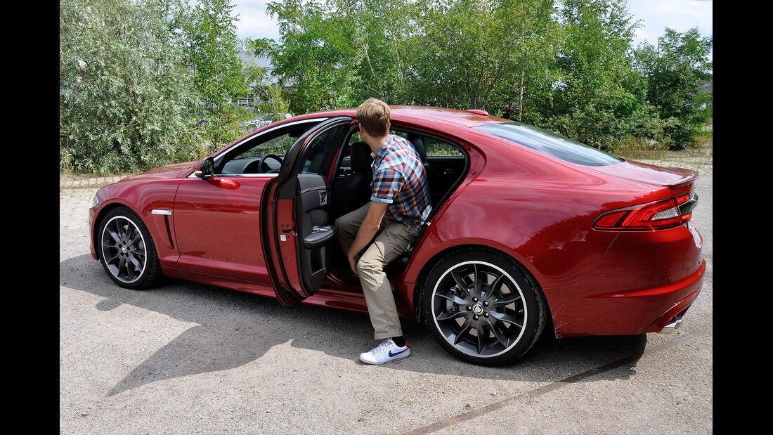 Jaguar XFR, Innenraum, Fond