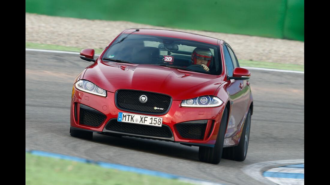Jaguar XFR-S, Frontansicht