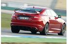 Jaguar XFR-S, Heckansicht